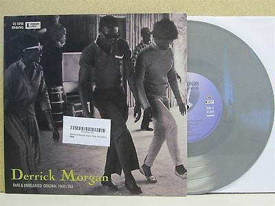 "DERRICK MORGAN Rare Unreleased Original 1960s Ska 10"" LP GREY VINYL Best of"