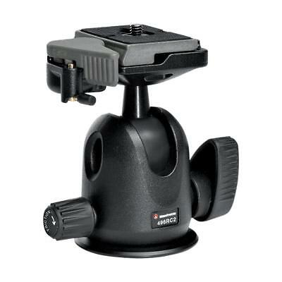 Manfrotto 496RC2 Compact Ball Head 496 with RC2 Plate