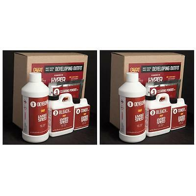 Galaxy Paper Direct Positive Photo Paper Developing Outfit, 1/2 Gallon #500366