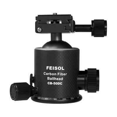 Feisol CB-50DC Carbon Fiber Ball Head with Release Plate QP-144750