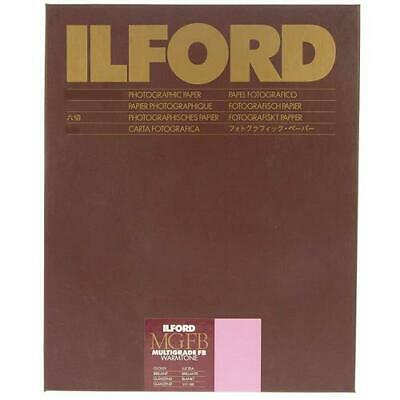 "Ilford Multigrade FB Warmtone VC Enlarging Paper, Glossy, 11x14"", 50 Sheets,"
