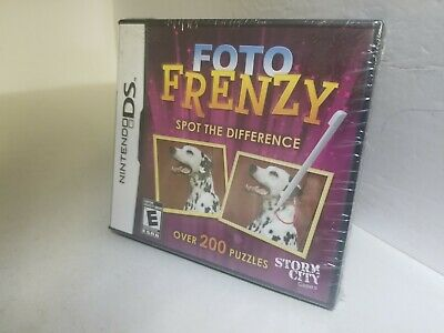 FOTO FRENZY For NINTENDO DS Lite DSi XL 3DS 2DS BRAND NEW SEALED