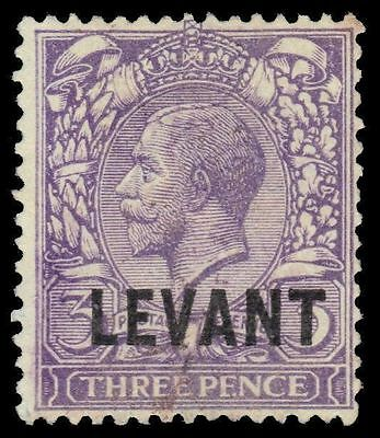 """BRITISH OFFICES in LEVANT 49 (SG L19) - King George V """"LEVANT"""" (pf69955)"""