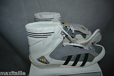 Chaussure Basket Adidas Taille 50  Neuf / Us 14 Boxe Boxing Adistar Fench