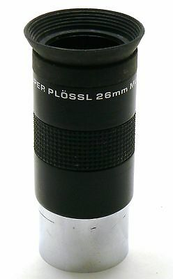 Meade Super Plossl 26mm Multicoated 1.25 inch telescope eyepiece EXC+