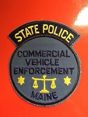 Maine State Police Commercial Vehicle Enforcement Old Used Truck Police