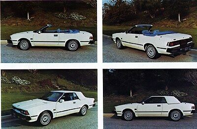 1981 Datsun 200SX American Custom Convertible Factory Photo ca6223