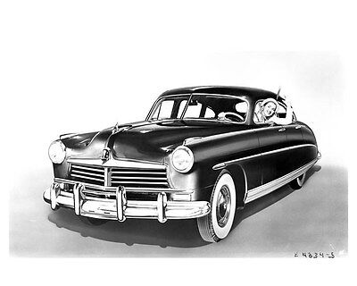 1948 Hudson Commodore Eight 4-Door Sedan ORIGINAL Factory Photo ouc0461