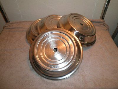 """(10) Vollrath Stainless 12"""" Plate Lid Covers Catering Hotel Room Service Banquet"""