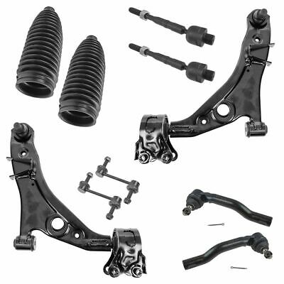 10 Piece Steering & Suspension Kit Control Arm Tie Rod Sway Bar End for Ford New