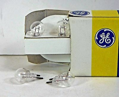 Lionel #12  6 Volt 2-Pin Clear Bulb, For #195 Floodlight Tower & MTH, 4 Ea., USA