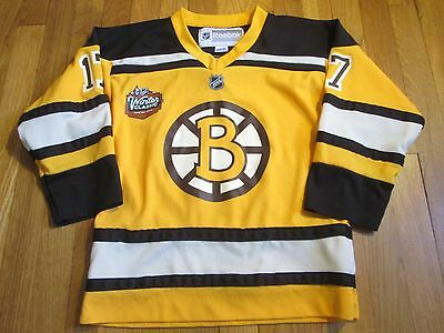 c34efd306 Reebok Nhl Boston Bruins Milan Lucic Winter Classic Jersey Size Youth S m