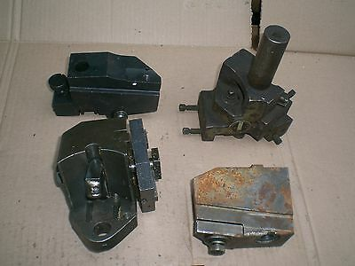 Lot of 5 screw machine tool holders turret cut off and others