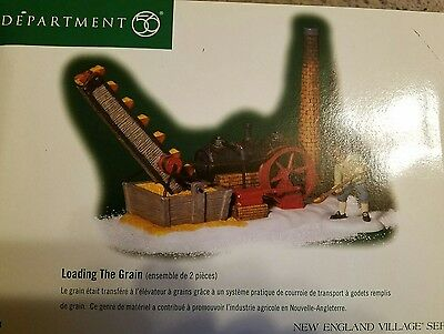 """Department 56 New England Village """"Loading the Grain"""""""
