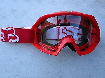 FOX MAIN goggles red
