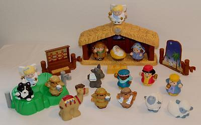 Fisher Price Little People Christmas Story Set-Nativity, 21 Pieces