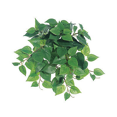 "12"" PHILODENDRON HANGING BUSH Mini Greenery Silk Wedding Flowers Centerpieces"