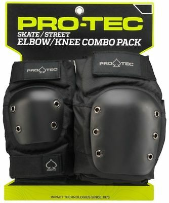 Protec Street Protective Pad Set - Knee And Elbow - Size Small