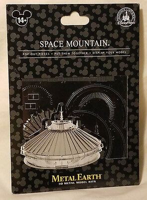 Disney Parks Space Mountain Metal Earth 3D Model Kits - NEW