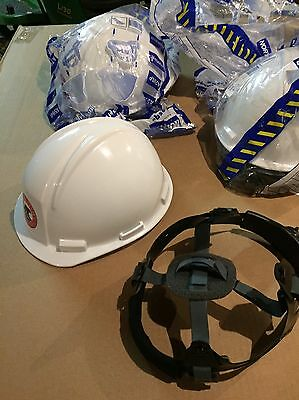 New Lot Of 3 North A29 K2 Series Construction Hard Hats - By Honeywell - $48.00