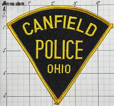 Ohio, Canfield Police Dept Patch