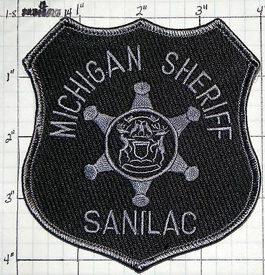 Michigan, Sanilac County Sheriff Dept Subdued Patch