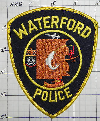 Michigan, Waterford Police Dept Patch