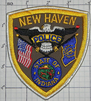 Indiana, New Haven Police Dept Brown Patch