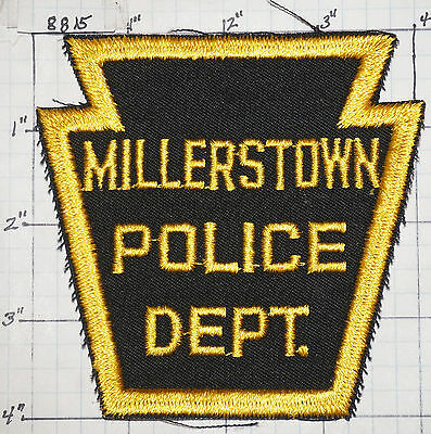Pennsylvania, Millerstown Police Dept Patch