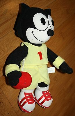 "Felix the Cat Playing Basketball Plush Toy 12 1/2"" tall A&A - Y08024 Stuffed"