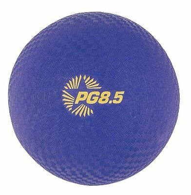 "Champion Sports Playground Gym Dodgeball Kickball 8.5"" Nylon 2-ply Ball, Purple"