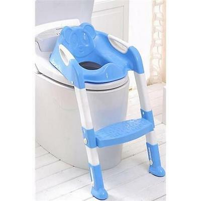 MWGEARS MWG-A101-blue Toilet Potty Step Trainer for Kids&Toddlers Training Seat