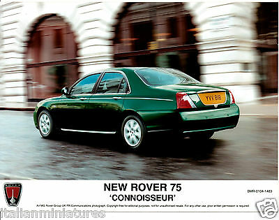 Rover 75 Sterling Connoisseur New V8 3 x Press Photograph Mint Condition