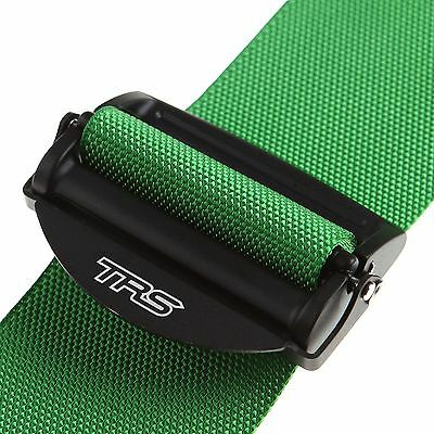 TRS Professional Rally/Race/Racing Car Magnum 4 Point Seat Harness In Green