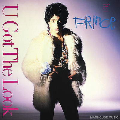 "PRINCE 12"" U Got The Look EXTENDED / 2017 Vinyl + PROMO"