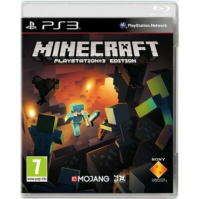 Minecraft PS3 Game Brand New
