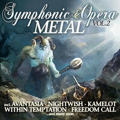 Symphonic & Opera Metal 2 - Various Artist (2016, CD New)