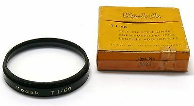 Kodak TI 60mm supplementary close up lens nahlinse Retina boxed EXC+ #27818