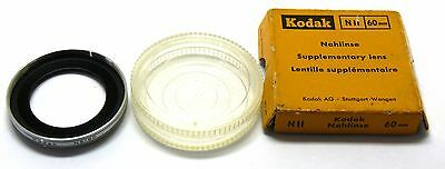 Kodak NII 60mm supplementary close up lens nahlinse Retina boxed EXC+ #10246