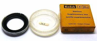 Kodak NI 60mm supplementary close up lens nahlinse Retina boxed EXC+ #27822