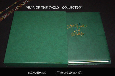 Year Of The Child -Must Have Collection Of Stamps & Souvenir Sheets-72 Pages