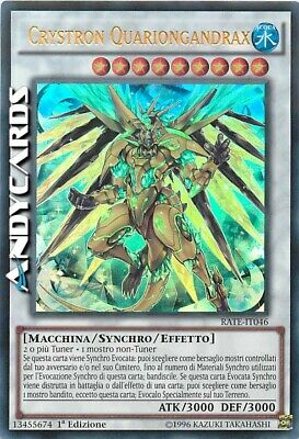 Crystron Quariongandrax ☻ Ultra Rara ☻ RATE IT046 ☻ YUGIOH ANDYCARDS