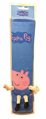 Peppa Pig Soft Kid's Seatbelt Cover Pad Blue George Pig
