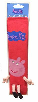 Peppa Pig Soft Kid's Seatbelt Cover Pad Pink