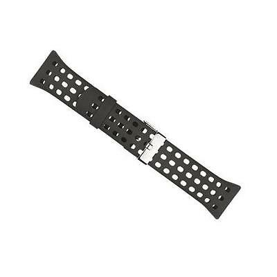 Suunto M5 M2 M1 Ventilated All Black Replecement Watch Strap Band SS016643000