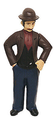 Bachmann 92341 G-Scale Posable Man With Bowler Hat  --  NEW