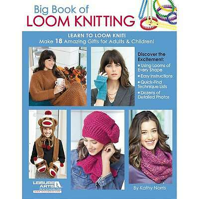 Leisure Arts-Big Book Of Loom Knitting 028906056044