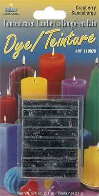 Concentrated Candle Dye 3/4 Ounce Blocks-Cranberry 052124102832