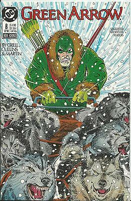 Green Arrow #8 (Dc) (1988 Series)