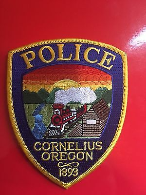 Cornelius Oregon  Police Shoulder Patch